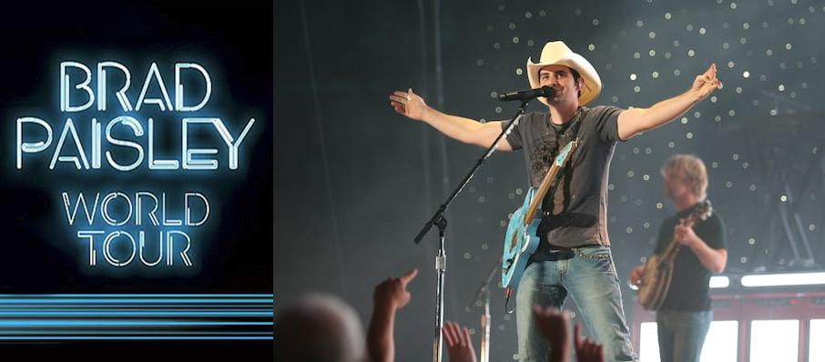 Brad Paisley at DTE Energy Music Center