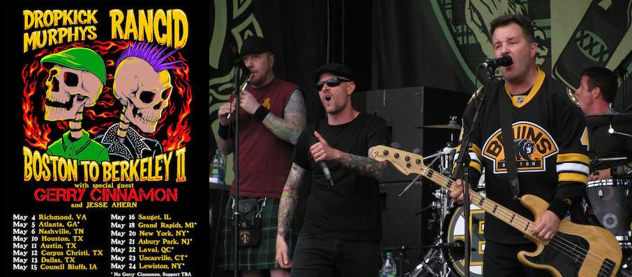 Dropkick Murphys at Masonic Temple Theatre