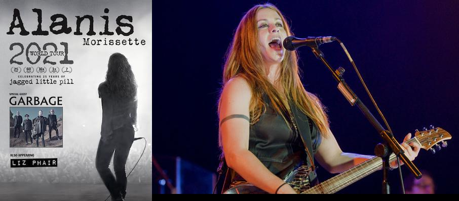 Alanis Morissette at DTE Energy Music Center