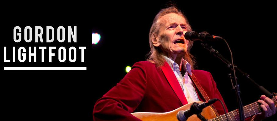 Gordon Lightfoot at Royal Oak Music Theatre