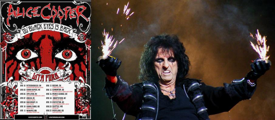Alice Cooper at DTE Energy Music Center