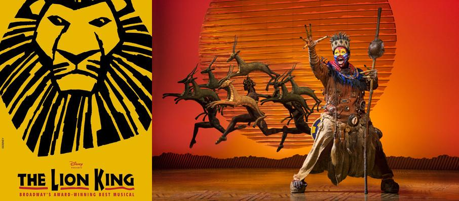 The Lion King at Detroit Opera House