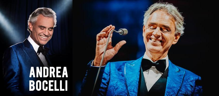 Andrea Bocelli at Little Caesars Arena