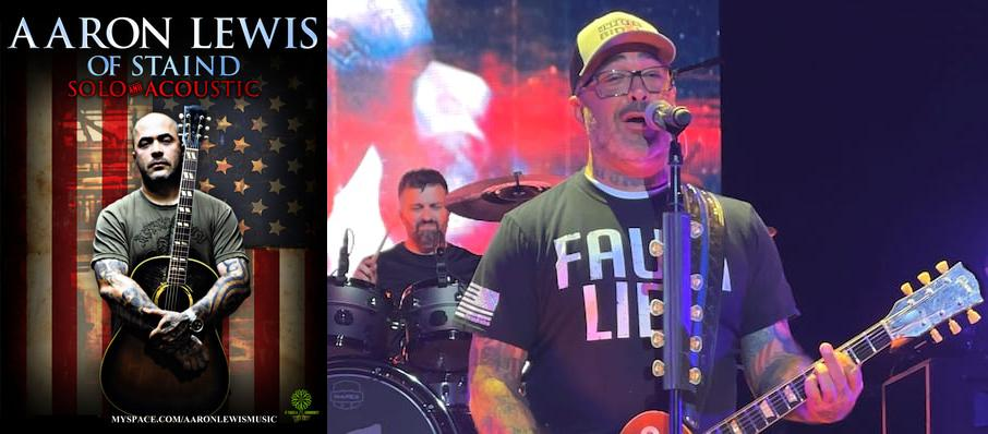 Aaron Lewis at The Fillmore