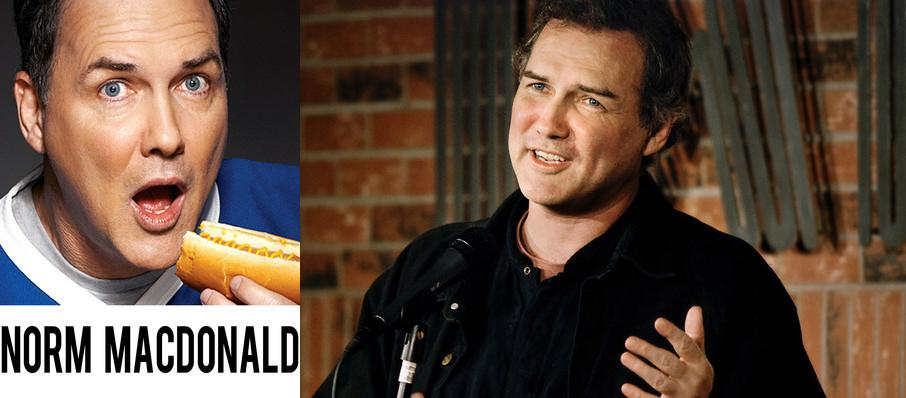 Norm Macdonald at Royal Oak Music Theatre