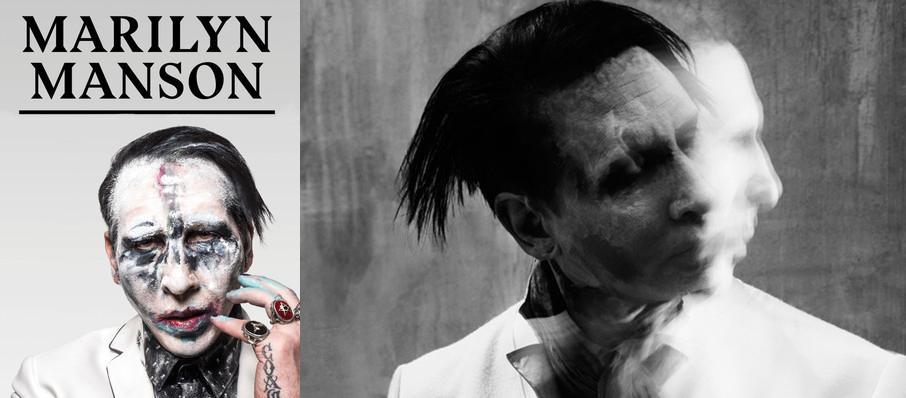 Marilyn Manson Tickets Calendar Jan 2020 The Fillmore