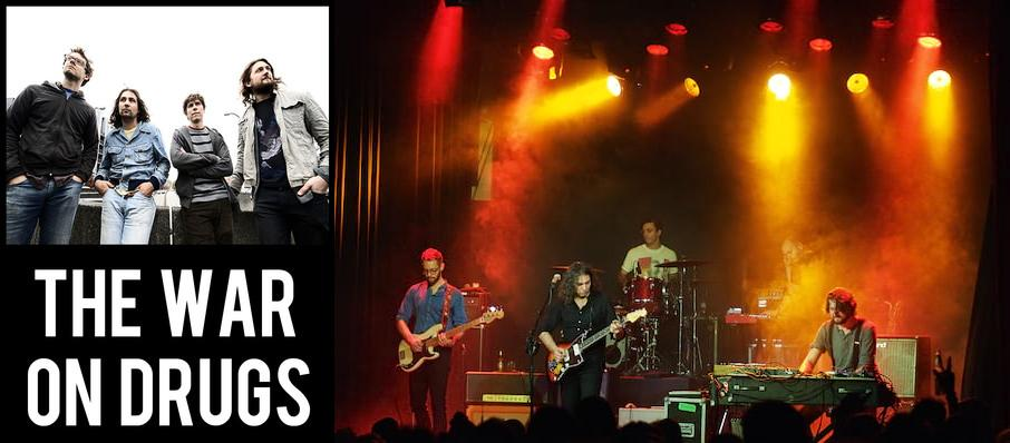 The War On Drugs at Royal Oak Music Theatre
