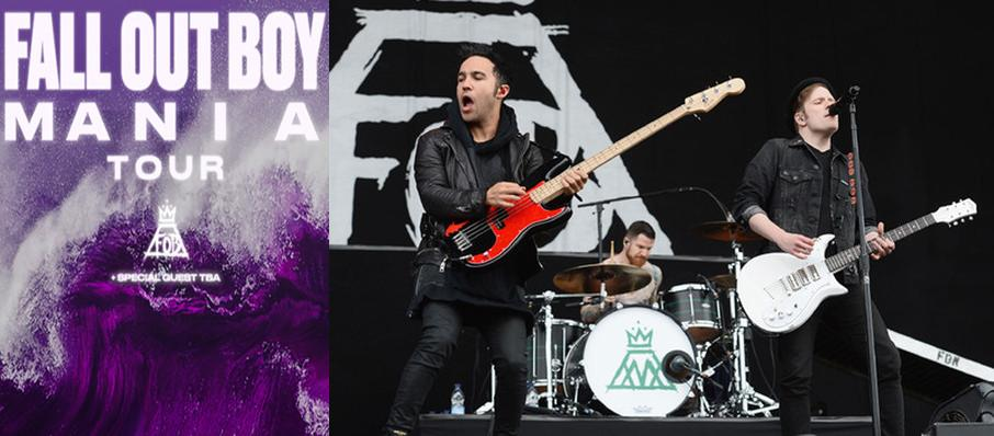 Fall Out Boy at Little Caesars Arena