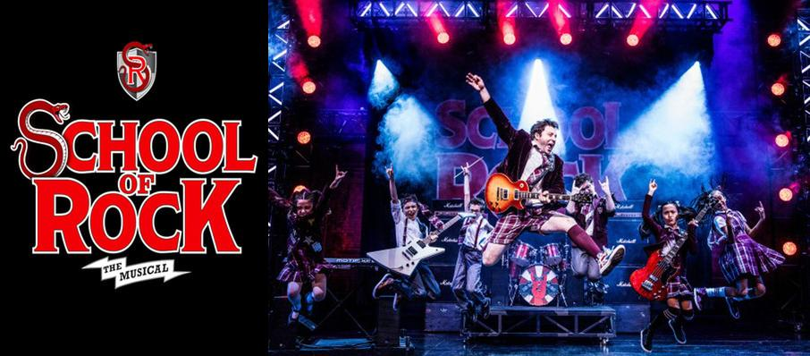School of Rock at Fisher Theatre