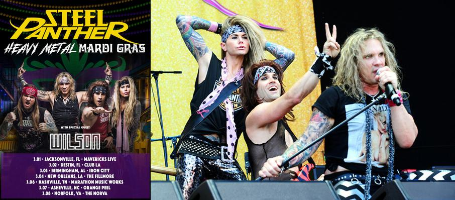 Steel Panther at The Fillmore