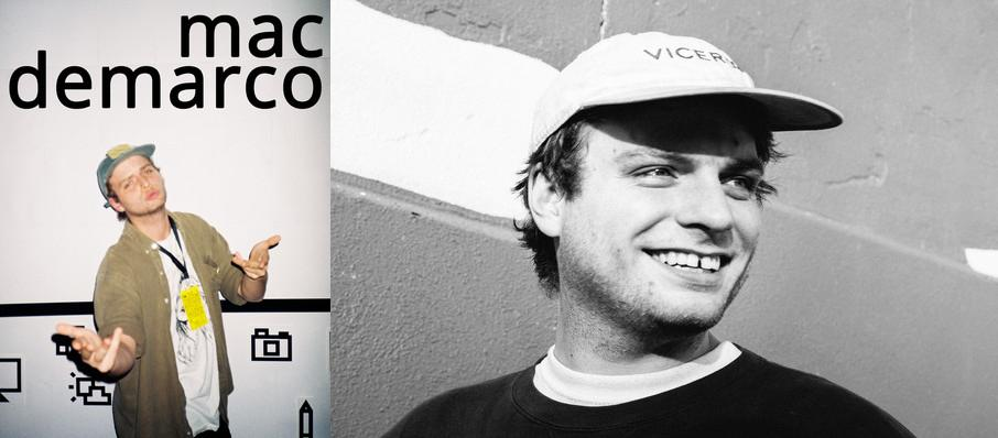 Mac DeMarco at Masonic Temple Theatre
