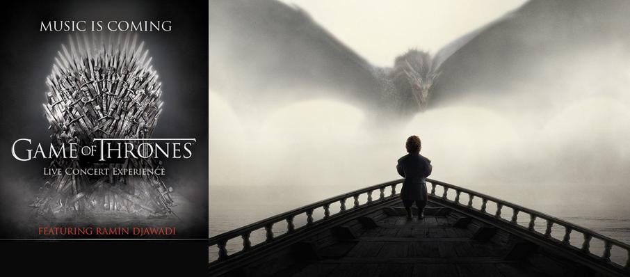 Game of Thrones Live Concert Experience: Ramin Djawadi at Little Caesars Arena