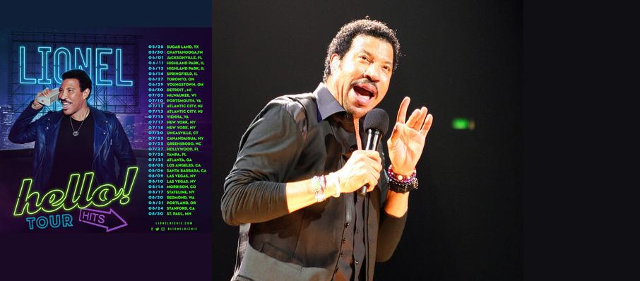 Lionel Richie at DTE Energy Music Center