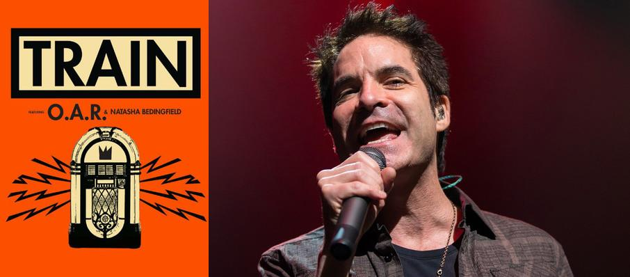 Train with OAR and Natasha Bedingfield at DTE Energy Music Center