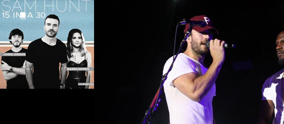 Sam Hunt With Maren Morris at DTE Energy Music Center