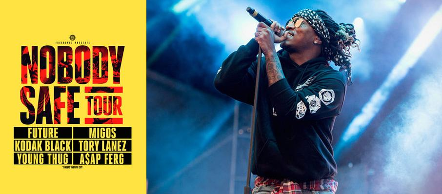 Future with Migos, Tory Lanez and Kodak Black at DTE Energy Music Center