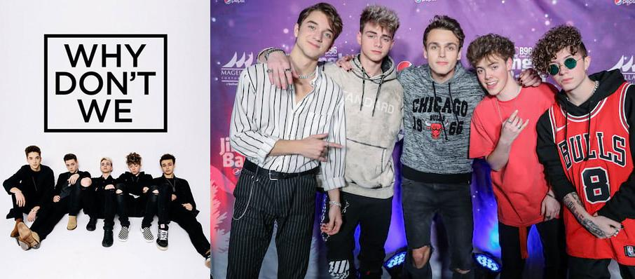Why Don't We at Royal Oak Music Theatre