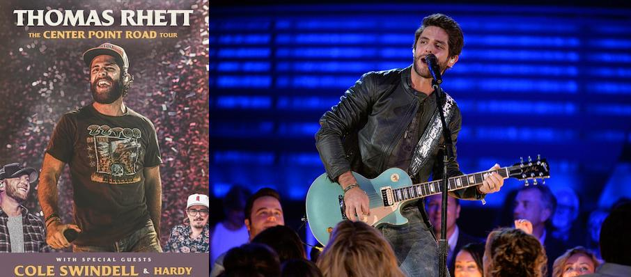 Thomas Rhett at DTE Energy Music Center