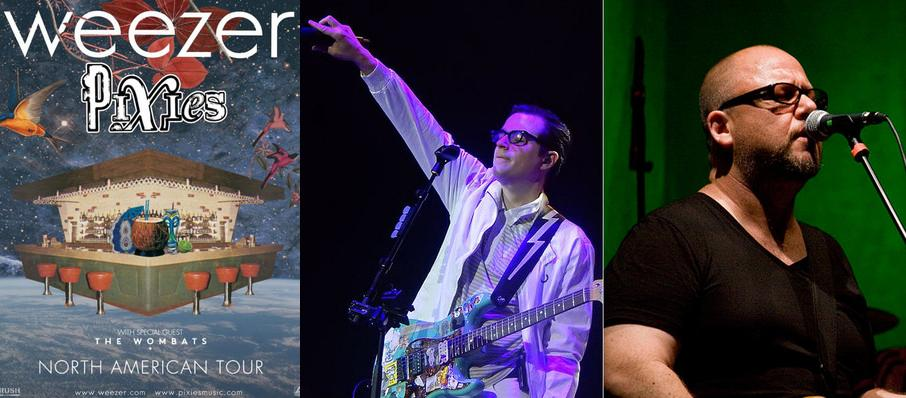Weezer and Pixies at DTE Energy Music Center