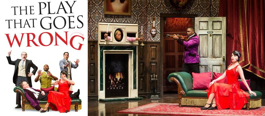 The Play That Goes Wrong at Fisher Theatre