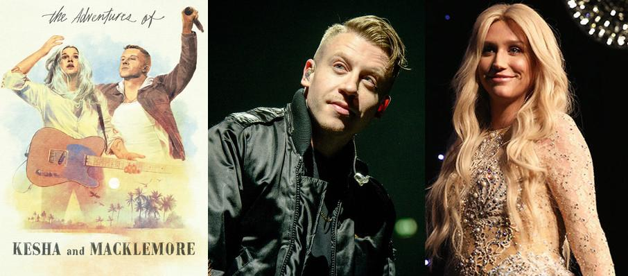 Kesha and Macklemore at DTE Energy Music Center