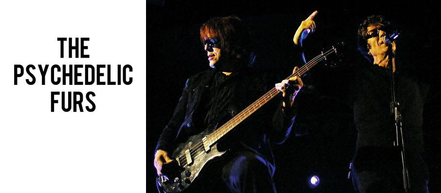 The Psychedelic Furs at Royal Oak Music Theatre