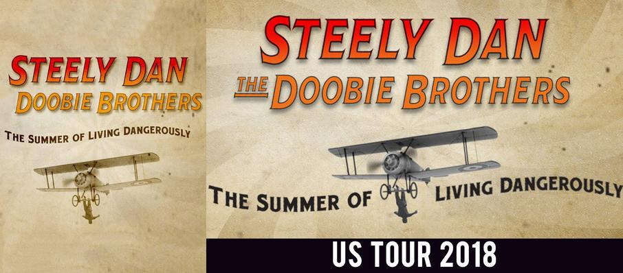 Steely Dan and The Doobie Brothers at DTE Energy Music Center