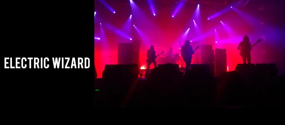 Electric Wizard at Royal Oak Music Theatre