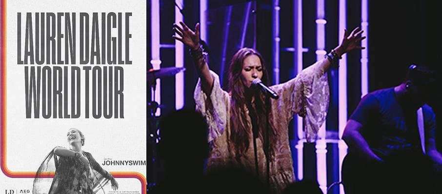 Lauren Daigle at Masonic Temple Theatre