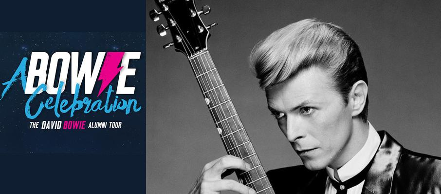 A Bowie Celebration - The David Bowie Alumni Tour at Royal Oak Music Theatre