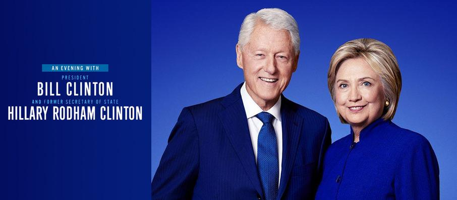An Evening with Bill and Hillary Clinton at Fox Theatre