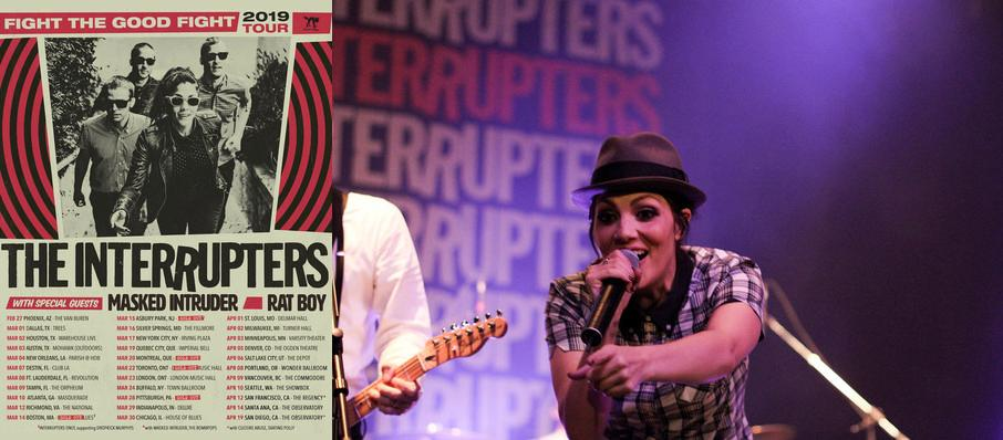 The Interrupters at Majestic Theater