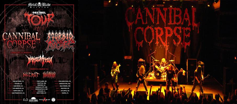 Cannibal Corpse at Saint Andrews Hall