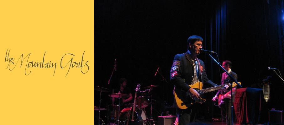 The Mountain Goats at Royal Oak Music Theatre