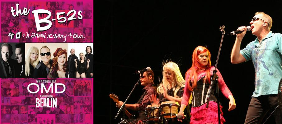 B-52s with OMD and Berlin at Meadow Brook Music Festival