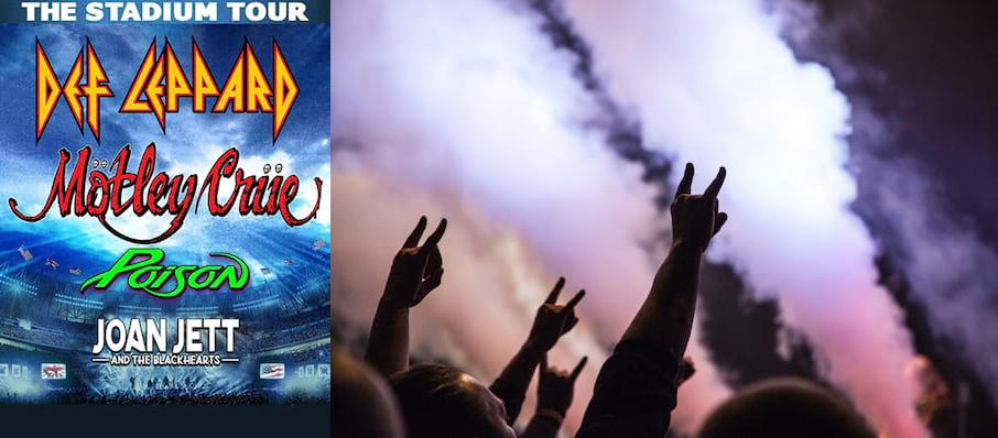 Motley Crue and Def Leppard with Poison at Comerica Park