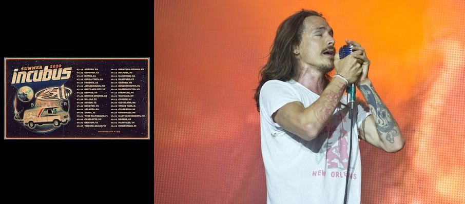 Incubus with 311 at DTE Energy Music Center