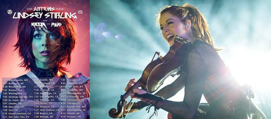 Lindsey Stirling at Freedom Hill Amphitheater