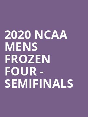 2020 NCAA Mens Frozen Four - Semifinals at Little Caesars Arena