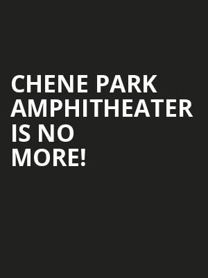 Chene Park Amphitheater is no more