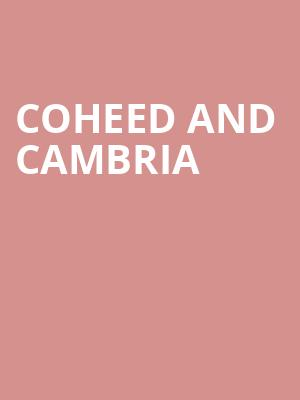 Coheed and Cambria at The Fillmore