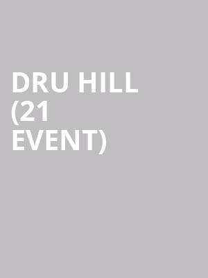 Dru Hill (21+ Event) at Motorcity Casino Hotel