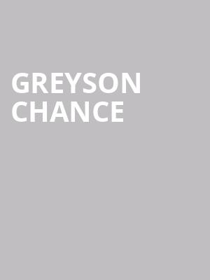 Greyson Chance at The Shelter
