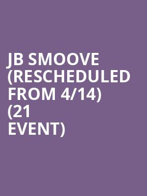 JB Smoove (Rescheduled from 4/14) (21+ Event) at Motorcity Casino Hotel