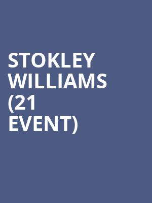 Stokley Williams (21+ Event) at Motorcity Casino Hotel
