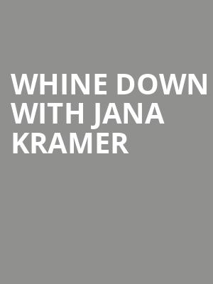 Whine Down with Jana Kramer at Royal Oak Music Theatre