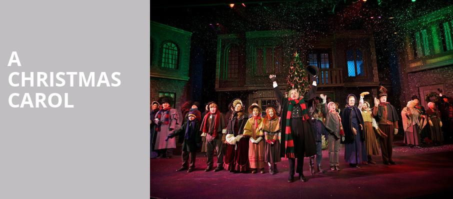 A Christmas Carol, Meadow Brook Theatre, Detroit