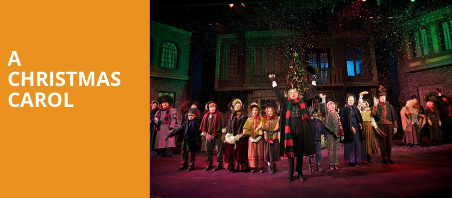 How Long Is The Christmas Carol Play.A Christmas Carol Meadow Brook Theatre Rochester Mi