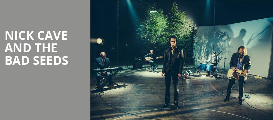 Nick Cave and The Bad Seeds, Masonic Temple Theatre, Detroit