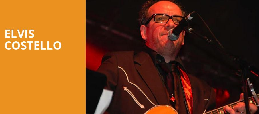 Elvis Costello, The Fillmore, Detroit